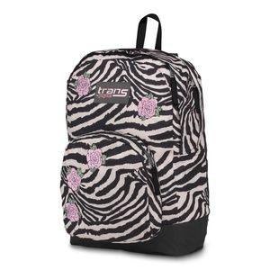 Trans JanSport Overt Zebra Rose Backpack